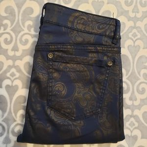 Tristan NWOT pants Size 6 dark blue straight leg